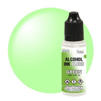 Couture Creations Alcohol Ink 12 ml :  Fluro Green - alkoholimuste