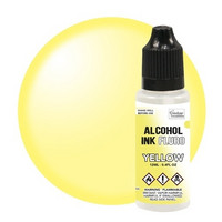 Couture Creations Alcohol Ink 12 ml :  Fluro Yellow - alkoholimuste