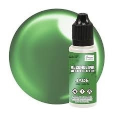 Couture Creations Alcohol Ink Metallic Alloy 12 ml :  Jade - alkoholimuste