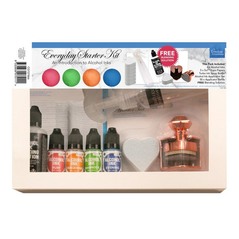 Couture Creations Alcohol Ink Starter Kit: Everyday