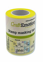 Craft Emotions Stamp Masking Tape 6 cm