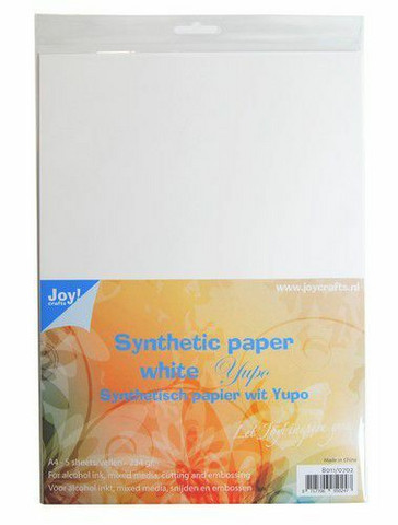 Joy Crafts YUPO  synteettinen paperi A4 / 234gr