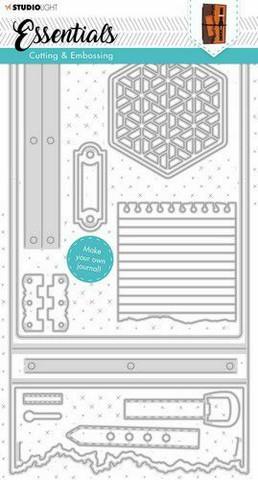 Studio Light Journal Essentials:  #342  - stanssisetti