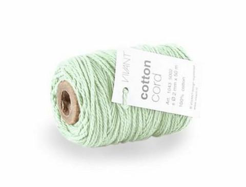 Cotton Twist: Fine Mint Green - nyöri