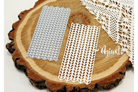 Agiart: Knitted Background -stanssi