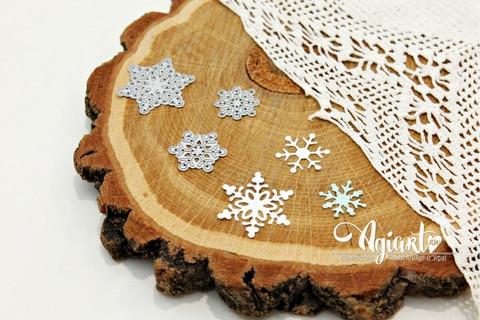 Agiart: Snowflake Set 4 -stanssisetti