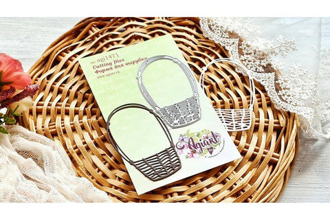 Agiart: Flower Basket -stanssi