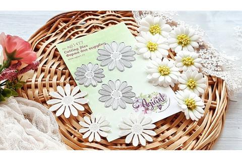 Agiart: Camomilla Flowers (Päivänkakkara)  -stanssisetti
