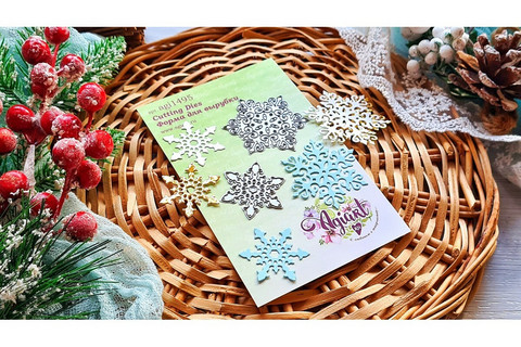 Agiart: Snowflake Set 6 -stanssisetti