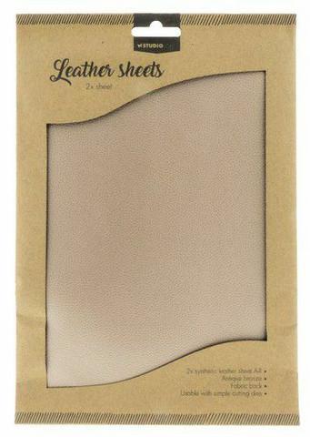 Studio Light A4 Leather Sheets: Antique Bronze
