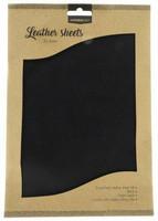 Studio Light A4 Leather Sheets: Black
