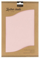Studio Light A4 Leather Sheets: Baby Pink