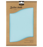 Studio Light A4 Leather Sheets: Baby Blue