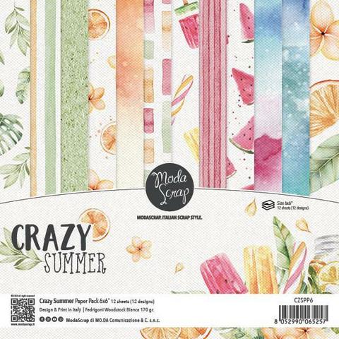 Modascrap: Crazy Summer 6x6 paperikokoelma