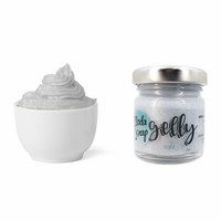 Modascrap Gelly Gloss Gel : Silver 30 ml