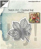 Joy Crafts: Chestnut Leaf  -stanssi