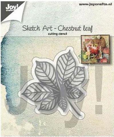 Joy Crafts: Chestnut Leaf  -stanssi