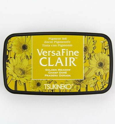 Versafine Clair: Golden Meadow -mustetyyny
