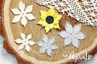 Agiart: Sunflower (Auringonkukka) -stanssisetti