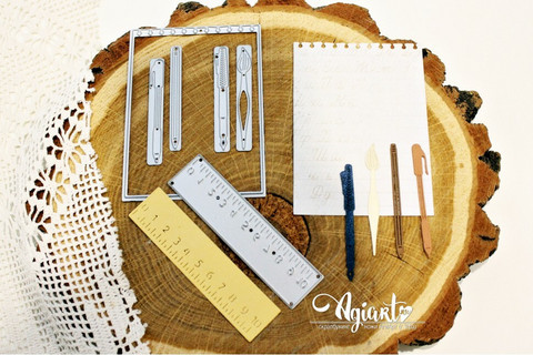 Agiart: Notebook Set  -stanssisetti