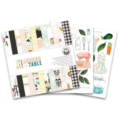 P13:  Around The Table 6x6 - paperikokoelma