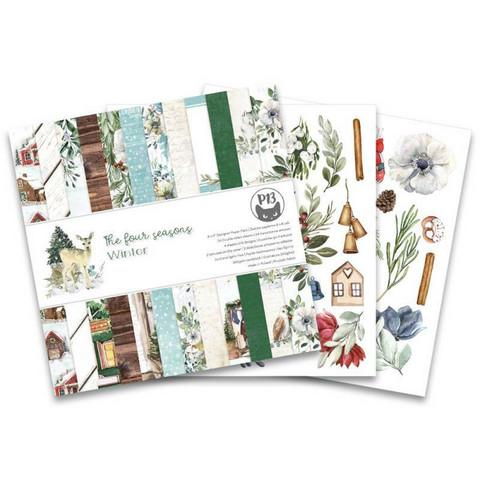 P13: The Four Seasons: Winter 6x6 - paperikokoelma