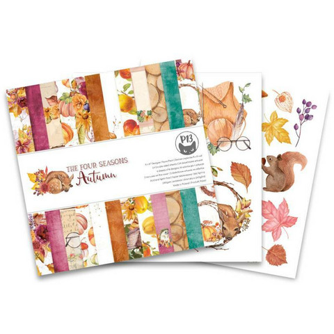 P13: The Four Seasons - Autumn 6x6 - paperikokoelma
