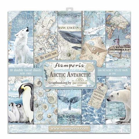 Stamperia: Arctic Antarctic 12 x 12 paperikokoelma