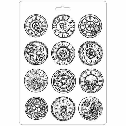 Stamperia Soft Mold A4: Mechanisms