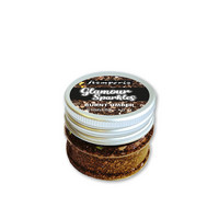 Stamperia Glamour Sparkles 40g : Burnt Umber - glittermurske