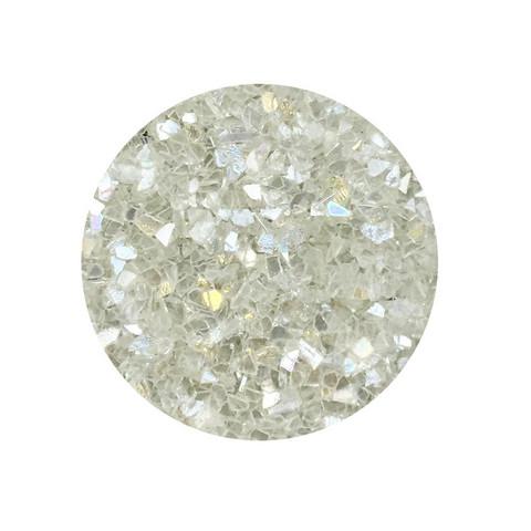 Stamperia Glamour Sparkles 40g : Sparkling White - glittermurske