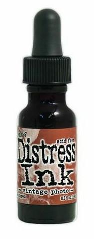 Distress Ink: Vintage Photo 14 ml  -täyttöpullo