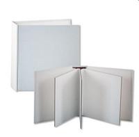 Stamperia Cardboard Album White 16 x 16  cm -  albumipohja
