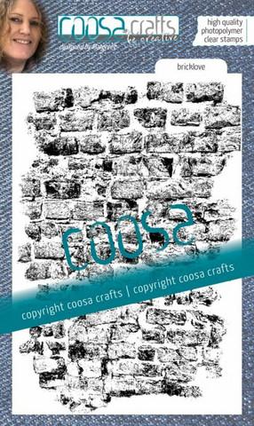 Coosa Crafts: Bricklove - leimasin