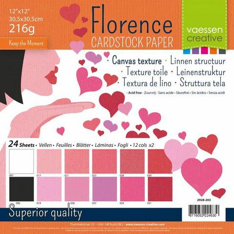 Florence: Valentine 12x12 (30,5 x 30,5 cm) -kartonkipakkaus