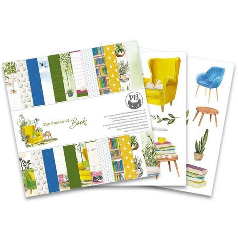 P13: The Garden of Books 6x6 - paperikokoelma