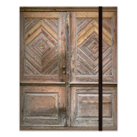 P13: Bujo Art Journal Notebook:  Door - muistikirja