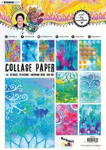 Studio Light Art by Marlene: Collage Paper 10 -lehtiö