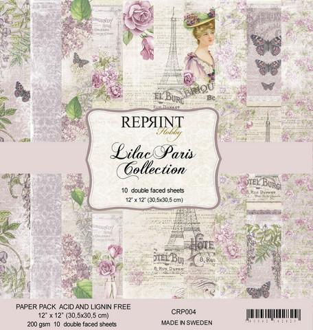 Reprint: Lilac Paris Collection 12x12 kokoelma