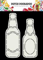 Dutch Duubadoo: Card Art Beer Bottle A5 -sabluuna