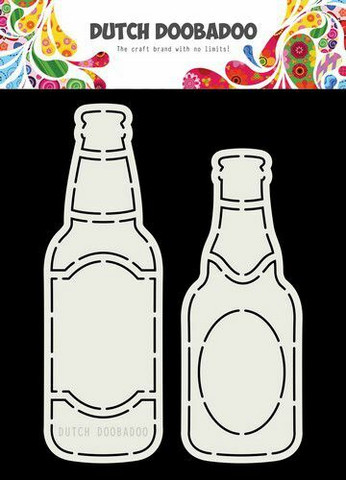 Dutch Duubadoo: Card Art Beer Bottle A5 -sabluuna