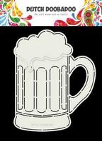 Dutch Duubadoo: Card Art Beer Glass A5 -sabluuna
