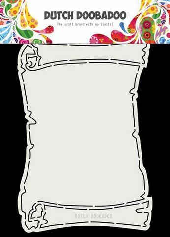 Dutch Duubadoo: Card Art Treasure Map A5 -sabluuna