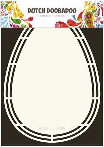 Dutch Duubadoo: Card Art Easter Egg A5 -sabluuna