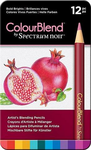 Spectrum Noir: Colourblend - Bold Brights - puuvärikynäpakkaus