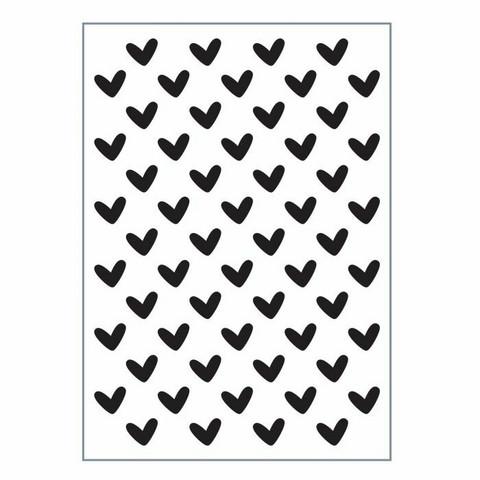 Vaessen Creative: Love It - Hearts - kohokuviointikansio