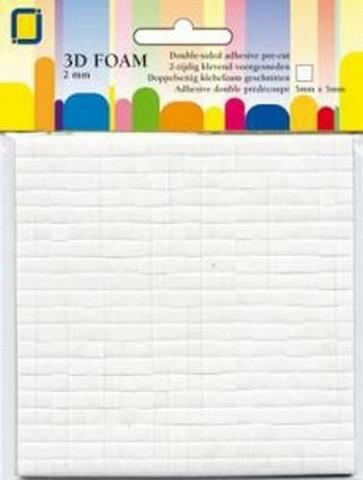 JEJE Product: 3D tarrapalat 2 mm valkoinen
