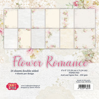 Craft & You Design: Flower Romance 6x6 - paperikokoelma