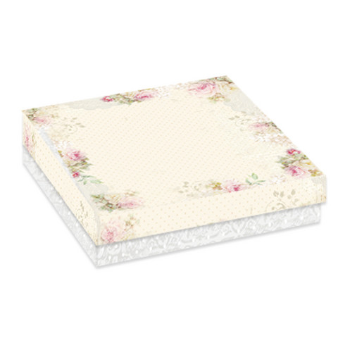 Craft & You Design: Flower Romance Box - Square