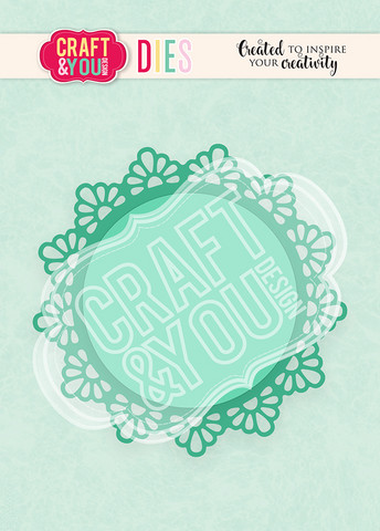 Craft & You: Doily 1 -stanssisetti